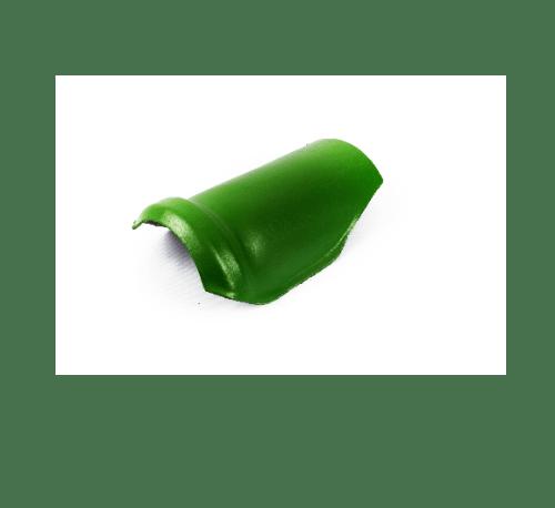 โอฬาร ครอบสันโค้งตะเข้คู่ สีประกายนาคราช เขียว