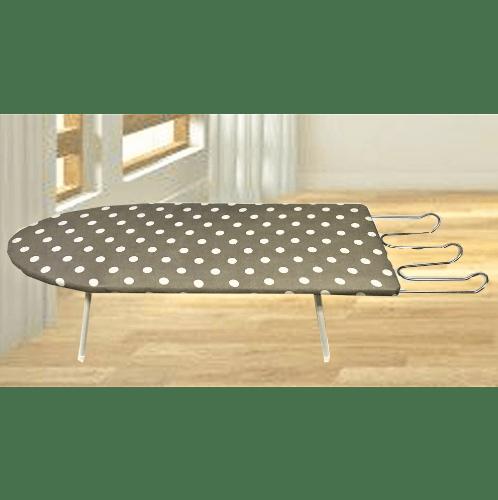 SAKU โต๊ะรีดผ้าโครงไม้อัด ขนาด30x78x20ซม.  นั่งรีดมินิ
