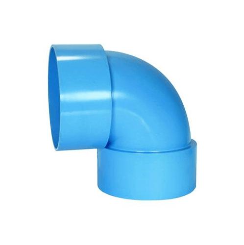 SCG ข้องอ 90 บาง  1 1/4 (35) สีฟ้า