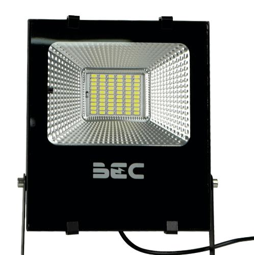 BEC โคมฟลัดไลท์ LED โซล่าร์ 30W 6500K  Cheetah สีดำ