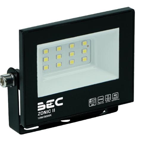 BEC โคมฉาย LED ฟลัดไลท์ 10W แสงวอร์มไวท์  ZONIC II 10W/3000K