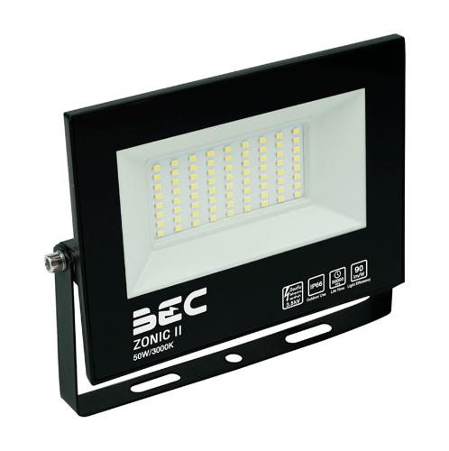 BEC โคมฉาย LED ฟลัดไลท์ 50W  แสงวอร์มไวท์  ZONIC 50W/3000K