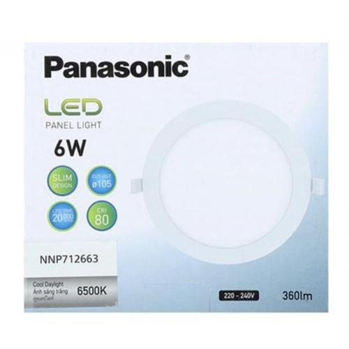 PANASONIC หลอด LED พาแนล 6 วัตต์ แบบกลม เดย์ไลท์ NNP712663