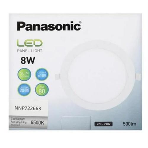 PANASONIC หลอด LED พาแนล 8 วัตต์ แบบกลม เดย์ไลท์ NNP722663
