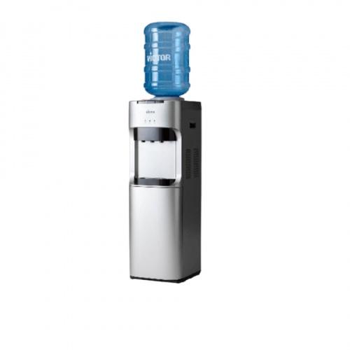 Victor ตู้ทำน้ำร้อน-เย็น พลาสติก 3 ก๊อก พร้อมตู้เย็นด้านล่าง 20 ลิตร VT-2335R