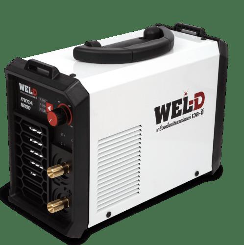 WEL-D เครื่องเชื่อม 160 แอมป์ MMA 160D สีขาว