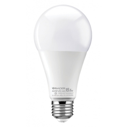 RACER หลอด LED Bulb 15.5W E27 DL 6500K  เคที A65 สีขาว