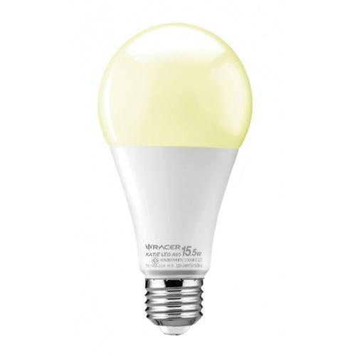 RACER  หลอด LED Bulb 15.5W E27 WW 3000K  เคที A65 สีขาว