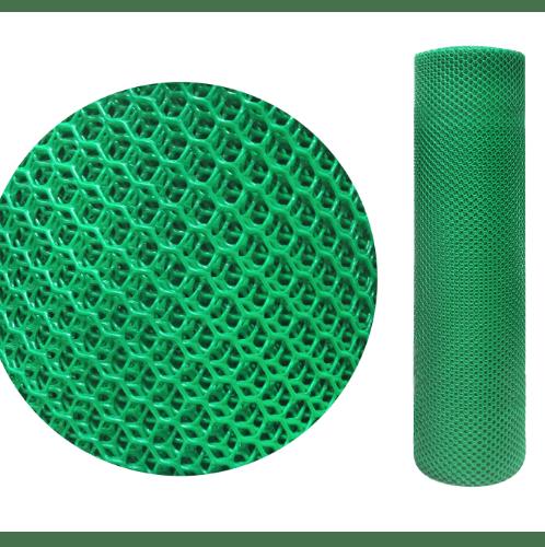 Leo Net ตาข่ายพลาสติกหกเหลี่ยม  25mm.90CMx30M.   #318   สีเขียว