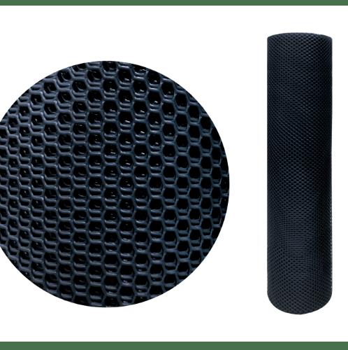 Leo Net ตาข่ายพลาสติกหกเหลี่ยม 9มิล ขนาด 30x0.9ม.  @330 สีดำ