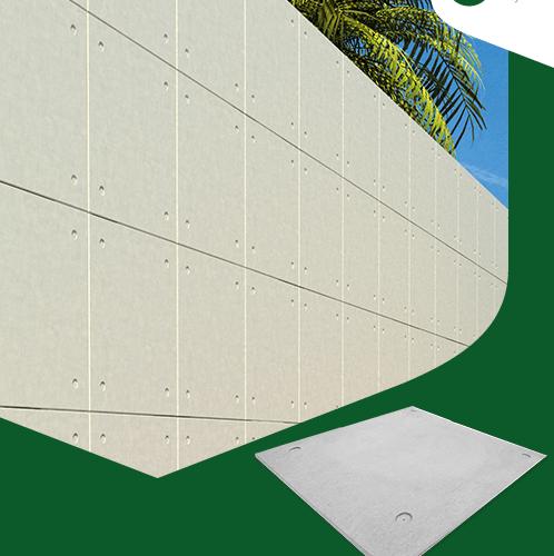 CONWOOD ไม้ตกแต่งผนังคอนวูด บอร์ดอีซีพี 60x60 ผิวเรียบ สีธรรมชาติ