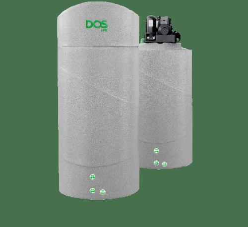 DOS  ถังเก็บน้ำบนดินสีแกรนิตเทา 700L+ปั้มน้ำอัตโนมัติ  EP-355W  WATER PAC GY 700L สีเทา