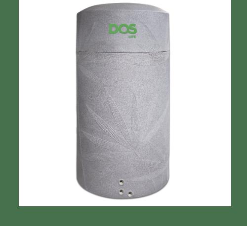 DOS ถังเก็บน้ำบนดินสีแกรนิตเทา+ปั้มน้ำ NATURA WATER PAC 2000L+EP-255W สีเทา