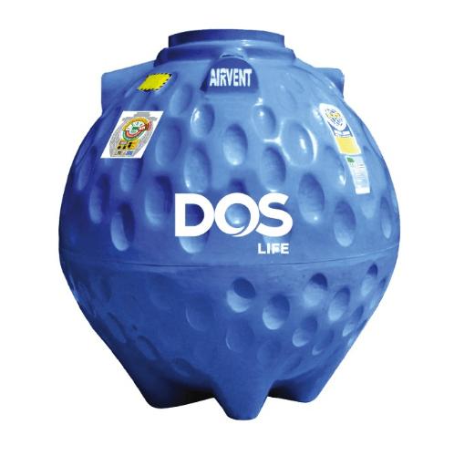 DOS ถังเก็บน้ำใต้ดิน 600L  DUT GOLD สีน้ำเงิน