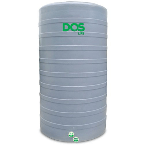 DOS ถังเก็บน้ำบนดิน  CHAMP DWT 2000L S950 สีเทา
