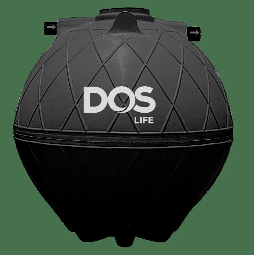 DOS ถังบำบัดน้ำเสีย 3000L SUPER SEPT สีดำ