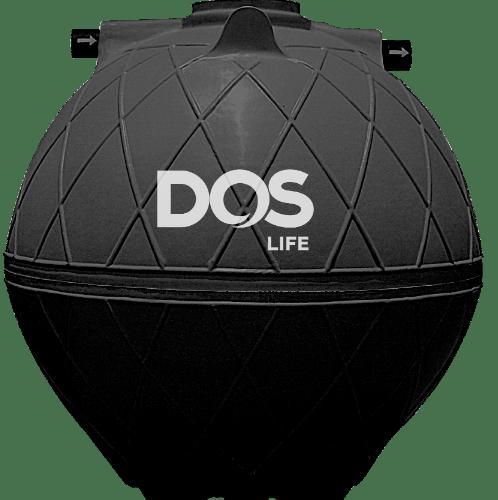 DOS ถังบำบัดน้ำเสีย 6000L SUPER SEPT สีดำ