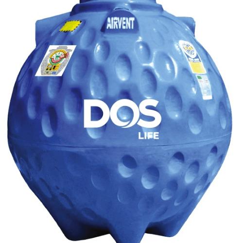 DOS ถังเก็บน้ำใต้ดิน 800L  DUT GOLD สีน้ำเงิน