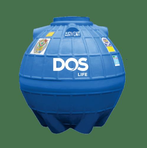 DOS ถังเก็บน้ำใต้ดิน 600L  DUT EXTRA สีน้ำเงิน