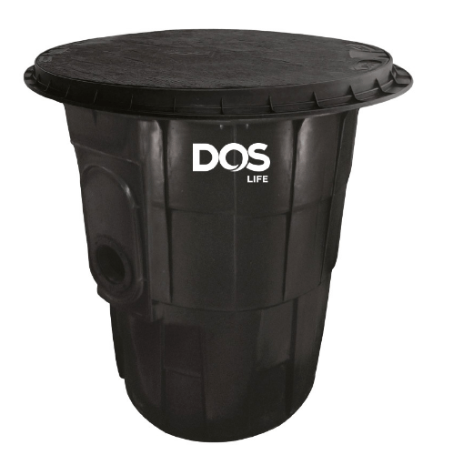 DOS ถังดักไขมันใต้ดิน G-TEK 40L สีดำ