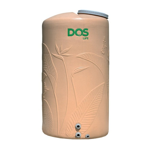 DOS ถังเก็บน้ำบนดิน 2000L  PARADISE DURA FLEX สีทราย