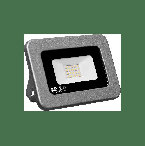 HI-TEK โคมฟลัดไลท์ LED ECO SERIES  แบบบาง 30W แสงขาว  สีขาว