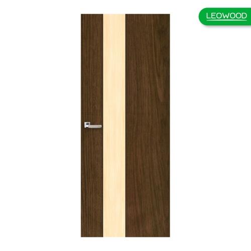 LEOWOOD ประตู iDoor S1  IWM13 - New Walnut - Maple ขนาด 35x800x2000มม.