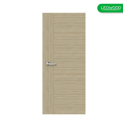 LEOWOOD ประตู I Door  LW - 46 - White Teak ภายใน ขนาด 90x200  ซม.