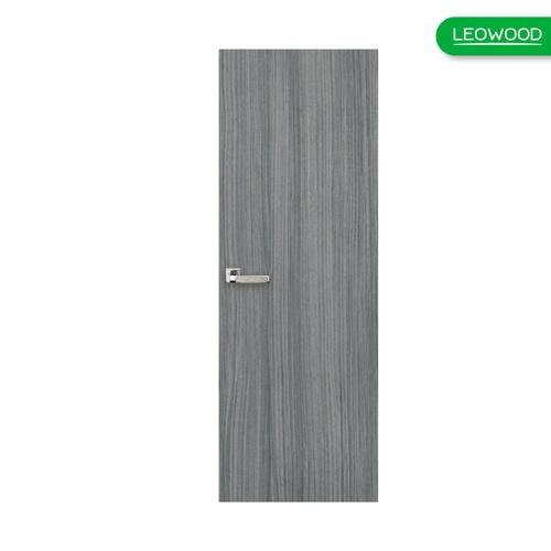 LEOWOOD ประตู UPVC ขนาด 70x200 ซม. Dark Grey iDoor Aqua สีเทา
