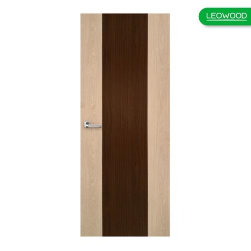 LEOWOOD ประตู iDoor S1 - Tango-Walnut ขนาด 80x200 ซม.  (IP1438) สีขาว