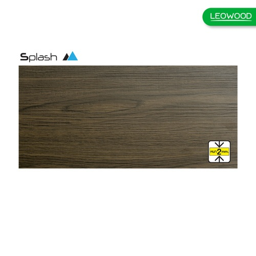 LEOWOOD ไม้พื้นไวนิล ทนชื้น LVT ขนาด 2cmx184cmx1219cm. SPLASH สี Americano Oak