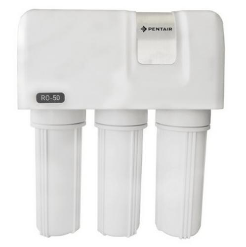PENTAIR เครื่องกรองน้ำดื่มระบบ GREEN RO ความละเอียด 0.0001 ไมครอน GRO-50 SYSTEM สีขาว