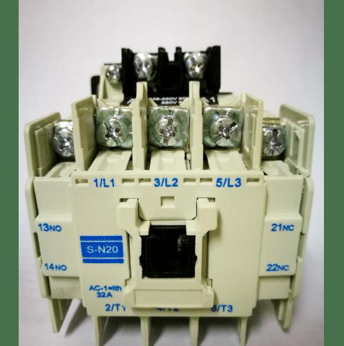 คอนแทคเตอร์TAKAMURAS-N20-380V  NO COLOR