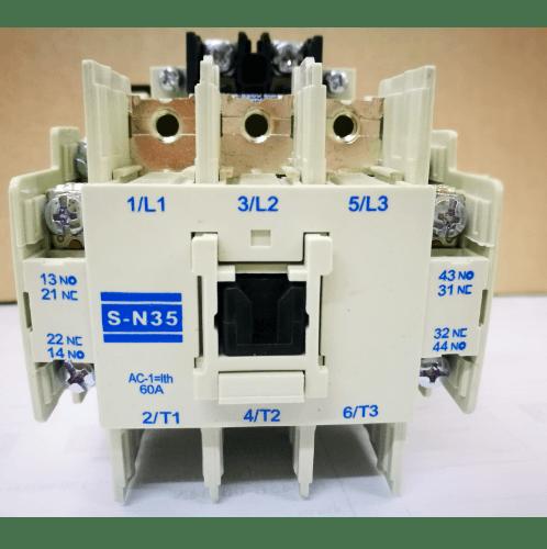 คอนแทคเตอร์TAKAMURAS-N35-380V  NO COLOR