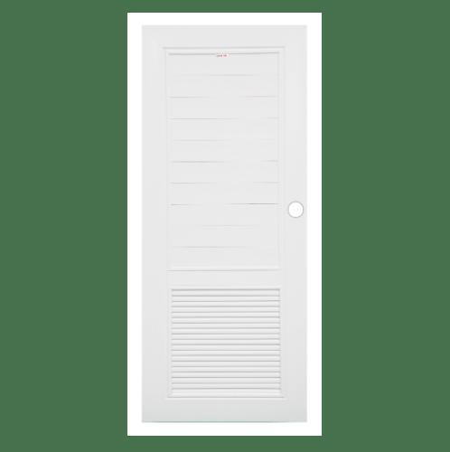CHAMP ประตูยูพีวีซี ขนาด 80x200 ซม. MUI-2 ขาว