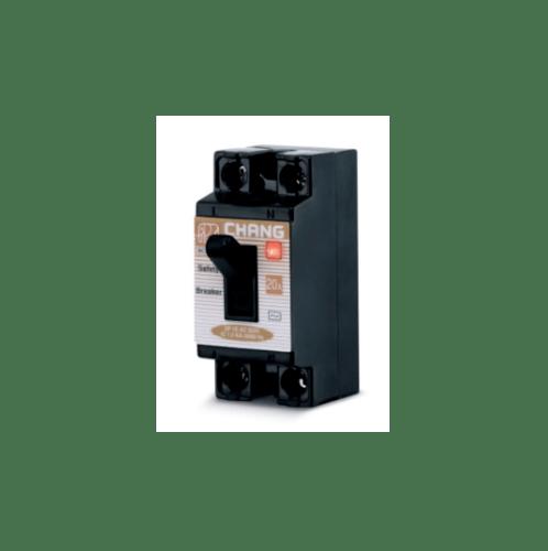 CHANG เบรคเกอร์ 20A BCL 220 มีไฟ-ช้าง - สีดำ