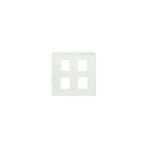 VENA ฝา 4 ช่อง MC-0004 (BL-004) VENA - สีขาว