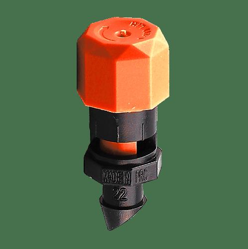 Super Products หัวฉีดสเปรย์ปรับองศาได้ ADJ 140 (10 หัว/แพ็ค) ส้ม