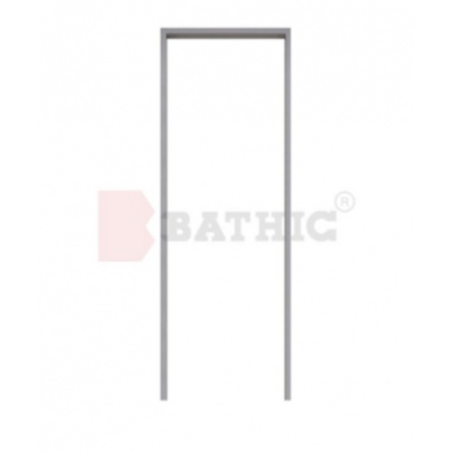 BATHIC วงกบ PVC  ขนาด 32x70 ซม. สีเทา