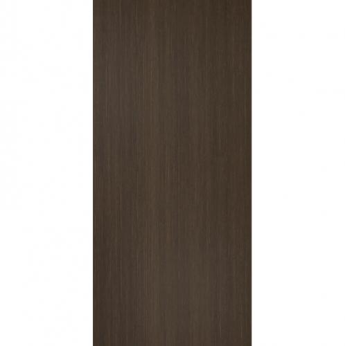 BATHIC ประตูไม้สังเคราะห์ BWP01 ขนาด 90x200ซม.  (ไม่เจาะรูลูกบิด) น้ำตาลเข้ม