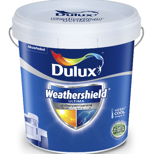 Dulux ดูลักซ์เวเธ่อร์ชีลด์อัลติม่า(กึ่งเงา) เบส B  9L Weathershield Ultima (Semi-Gloss)