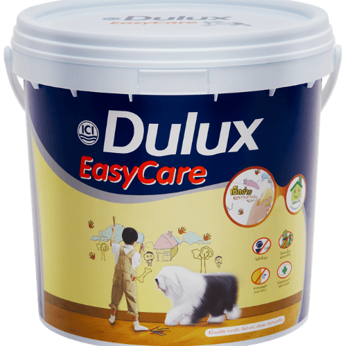 Dulux ดูลักซ์ อีซี่แคร์ กึ่งเงา เบส D EasyCare  ขาว