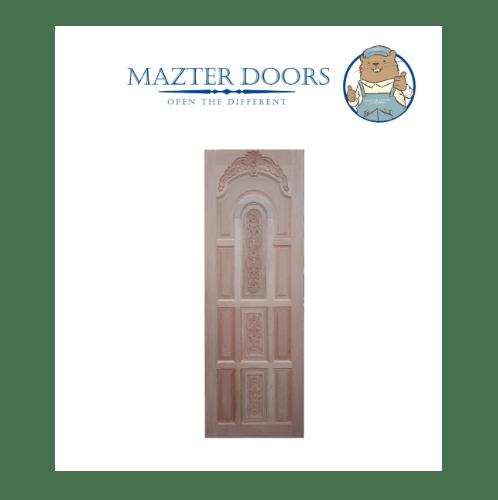 MAZTERDOOR ประตูไม้เนื้อแข็งขนาด 100x200ซม.      G960