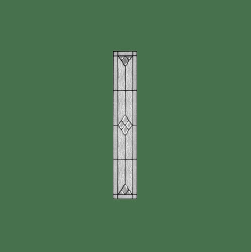 MAZTERDOOR กระจก ขนาด 20x162.5 cm. Jasmine-07