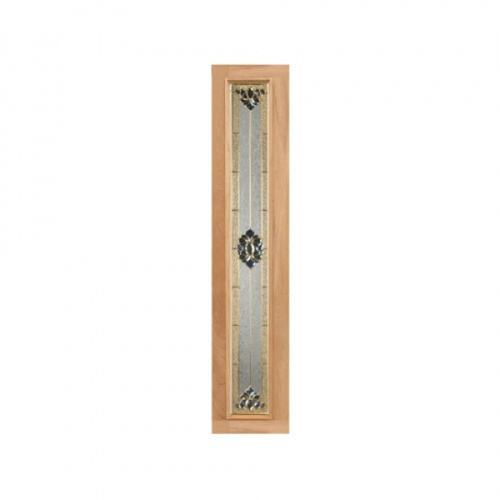 MAZTERDOOR ประตูไม้สยาแดง  60x200 cm.  JASMINE-05