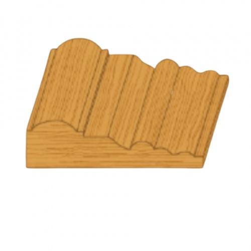 MAZTERDOOR ไม้บัวไม้สยาแดง(ซับวงกบ) 1X4X3.00m. M1503