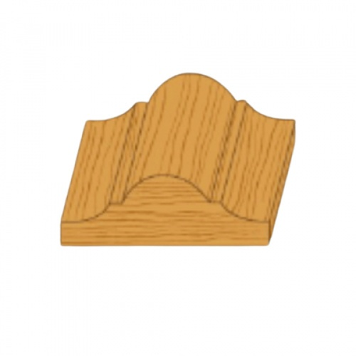 MAZTERDOOR ไม้คิ้วไม้เปอร์เชียจั่ว ขนาด 1x2x2.50m. M.0405