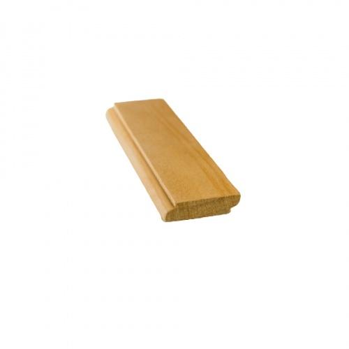 MAZTERDOOR คิ้วตกแต่ง-ไม้สัก  M.0310(เกล็ด 2 หน้า) 3/8x1.1/2 x6 ฟุต