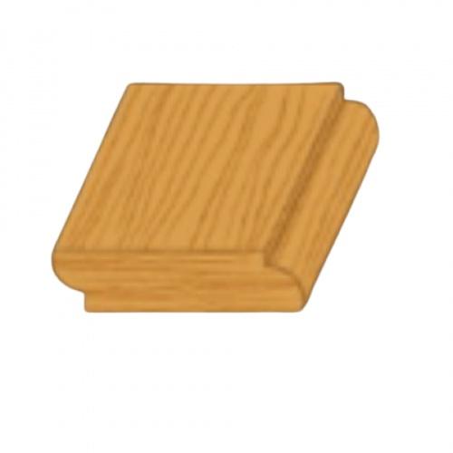 MAZTERDOOR คิ้วตกแต่ง-ไม้สัก (เกล็ด 2 หน้า) 3/8x1.1/2x6.5 ฟุต M.0310