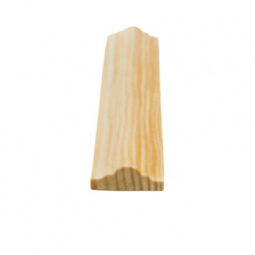 MAZTERDOOR คิ้วตกแต่ง-ไม้สัก(จั่ว) ขนาด  1/2x1x8.5 ฟุต M.0402